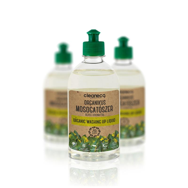 Cleaneco Organikus kézi mosogatószer repce kivonattal 0,5l