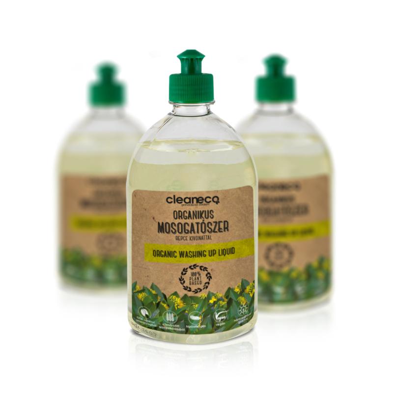 Cleaneco Organikus kézi mosogatószer repce kivonattal 1l