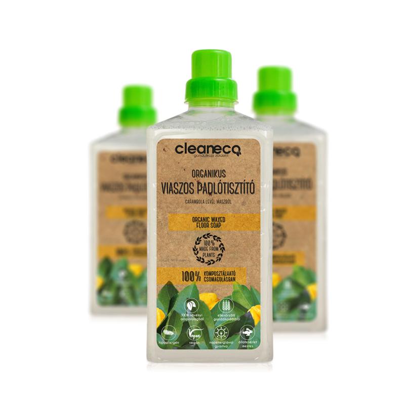 Cleaneco Organikus viaszos padlótiszító 1l