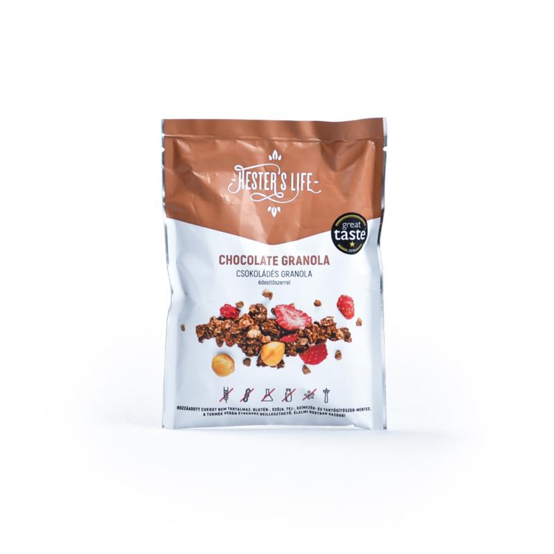 Hester's Life Útravaló csokoládés granola
