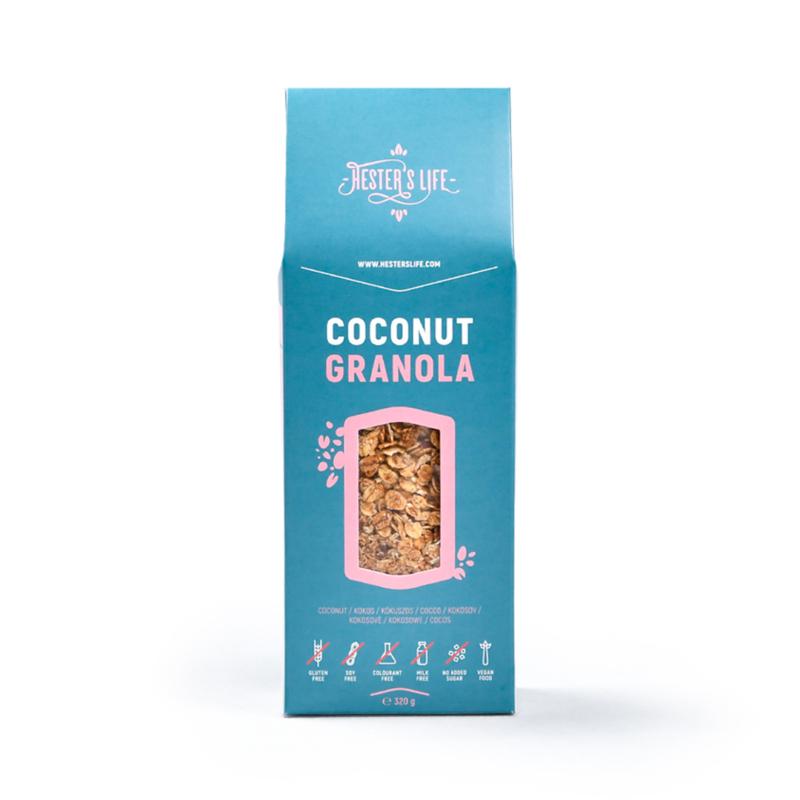 Hester's Life Kókuszos granola