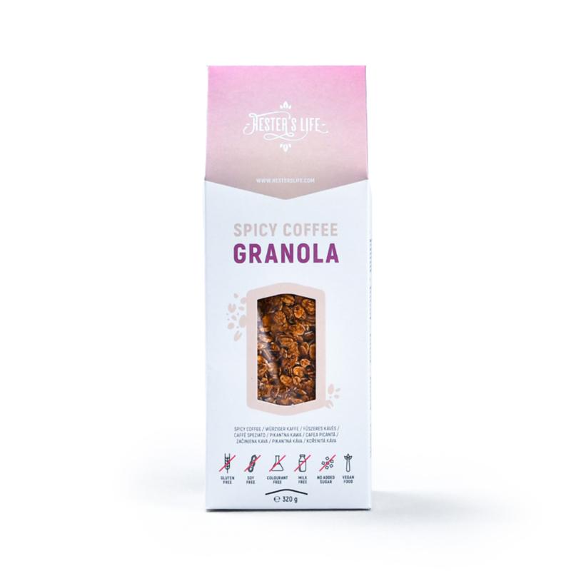Hester's Life Fűszeres-kávés granola