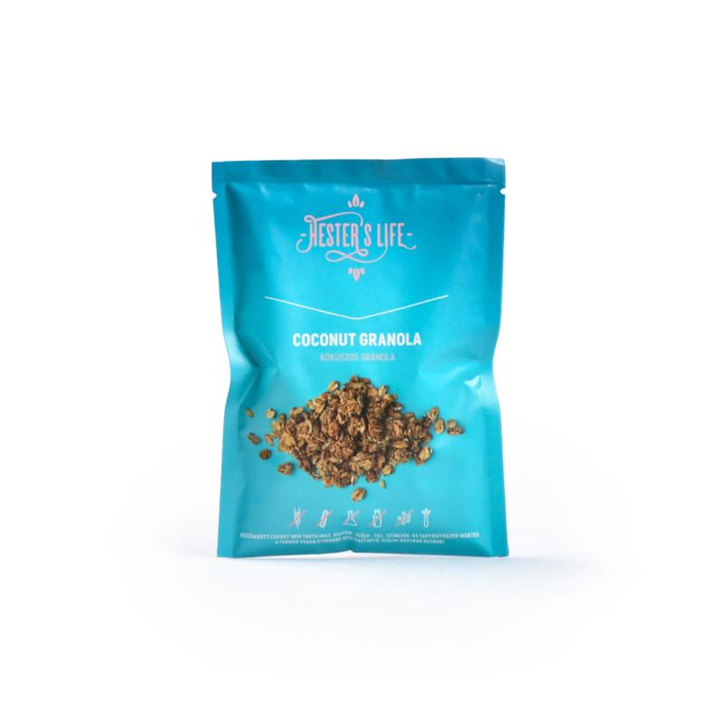 Hester's Life Útravaló kókuszos granola
