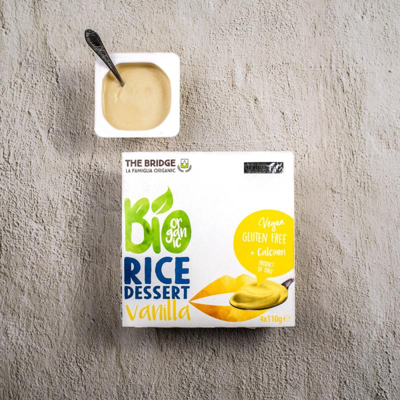 vanilias rizsdesszert